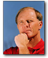 Former assistant defensive coordinator, and later head coach, Mike DuBose of the Alabama Crimson Tide.
