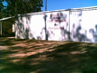 Ballogie Rural Fire Shed