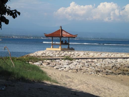 Beach time in Bali