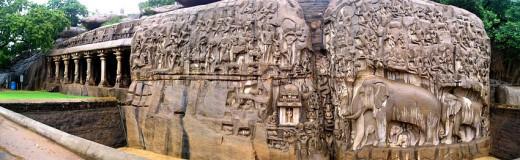 Rock cut temple of Mahabalipuram