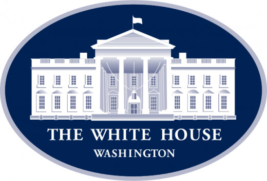 """US-WhiteHouse-Logo"""" by U.S. federal government - Extracted from PDF version of a 2003 progress report (direct PDF URL http://www.whitehouse.gov/).. Licensed under Public Domain via Wikimedia Commons"""