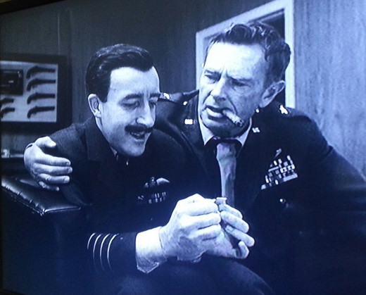 """Do you realize,"" says General Ripper to a dumbfounded Captain Mandrake (Peter Sellers), ""that fluoridation is the most monstrously conceived and dangerous Communist plot we've ever had to face?"""
