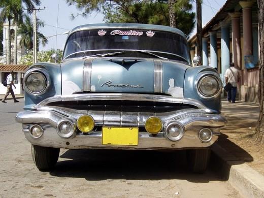 Vintage Pontiac.