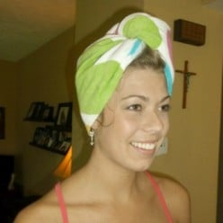 How to Sew a Simple Shower Turban
