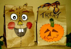 23 Halloween  Brown Paper Bags and Treat Recipes