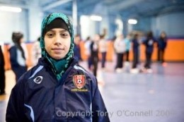 Salma qualified as an FA Coach and helps BD3 United to provide regular opportunities for Muslim girls to play football, socialise and interact in a safe environment.