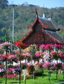 The Royal Flora Ratchaphruek in Chiang Mai, Thailand