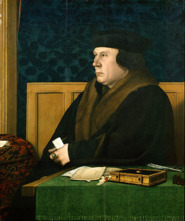 Portrait of Thomas Cromwell, one time ally of  Anne's who betrayed her for Henry VIII.  By Hans Holbein the Younger  c. 1532