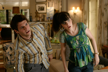 """Even with a relatively small role, [Zoey Deschanel] blows the whole movie to smithereens."" - Stephanie Zacharek, Salon.com"