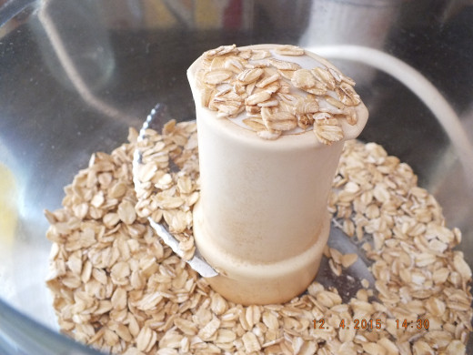 It's easy to make your own oatmeal flour.