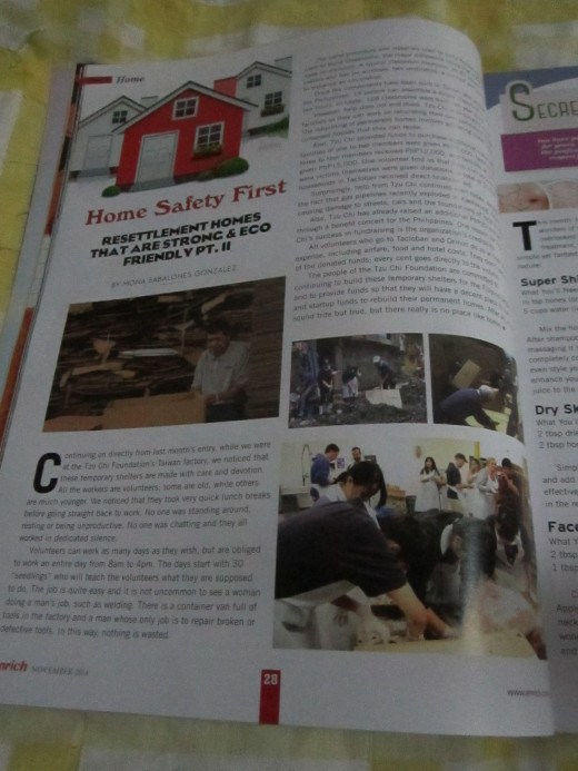 My article in Enrich Magazine