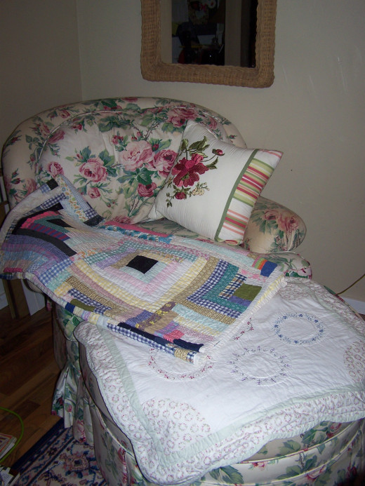 Grandma's Old Quilt.