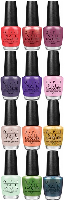 OPI Hawaii Summer 2015 Collection