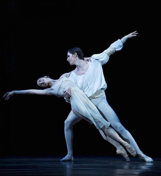 Nadja Sellrup and Pascal Jansson in a 2010 production of Romeo and Juliet at the Royal Swedish Opera, Carl Thorborg Kungliga Operan