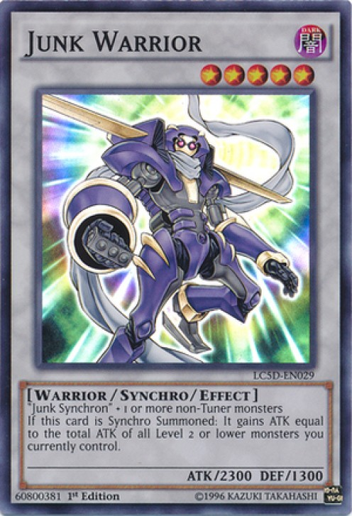 Yu-Gi-Oh's Top Six Synchro Monsters