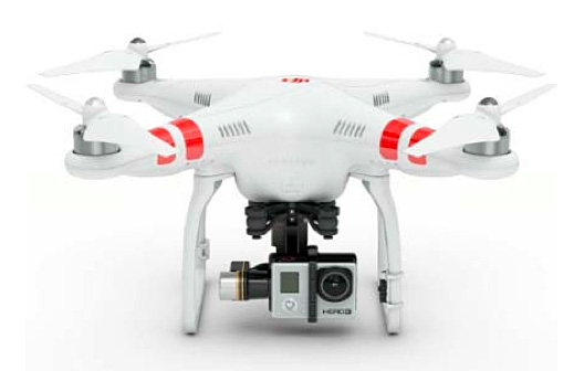 Many drones are compatible with GoPro cameras