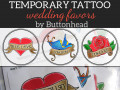 Wedding Temporary Tattoo Favors