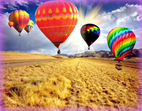 Special events like hot air balloon fiestas are fun but can be expensive.