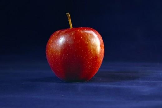 The forbidden fruit of human desire.