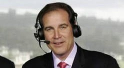 Jim Nance, smooth-talking CBS broadcaster who covers The Masters.