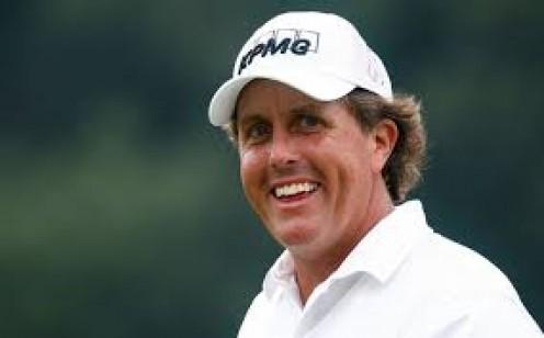 Phil Mickelson, pro golfer.