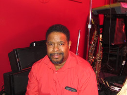 "Gerald Chavis, plays trumpet, flugehorn and background vocals on the CD, ""Soul Stream."""