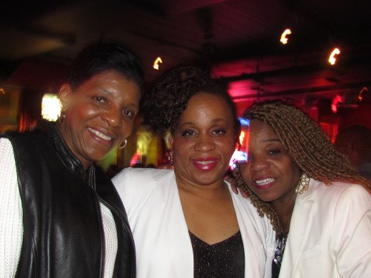 Sheryl, , who sings background vocals on the CD and Paulette Blake, all strong supporters of Point Blank Band.