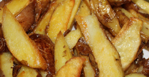 Homemade Oven Chips Taste Great
