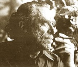 """Charles Bukowski smoking"" by Source. Licensed under Fair use via Wikipedia - http://en.wikipedia.org/wiki/File:Charles_Bukowski_smoking.jpg#/media/File:Charles_Bukowski_smoking.jpg"