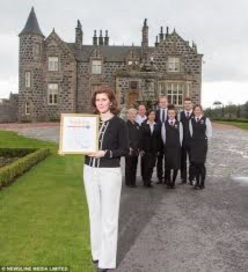 Trump's Macleod House Scotish hotel worth billions.