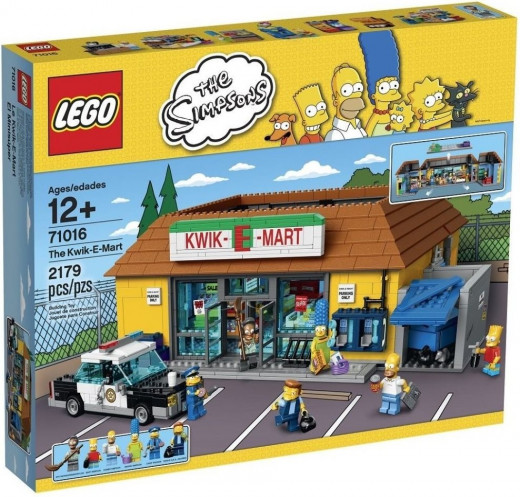 Simpson's Lego The Kwik-E-Mart 71016