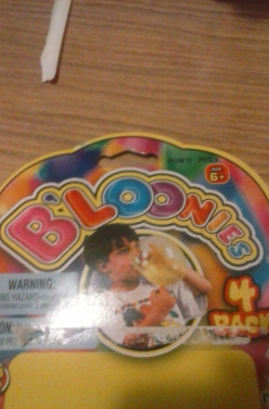 Do you remember Bloonies?The bubble you can hold.Did you ever get them as big as they show on tv?