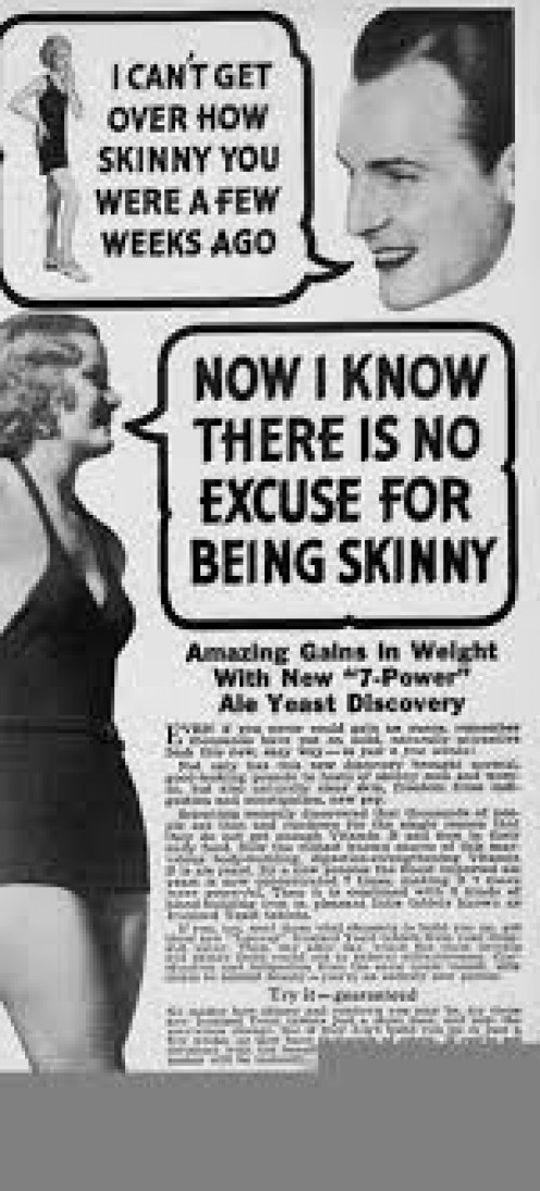 If you are going to stay fat, this is another ad you need to avoid.