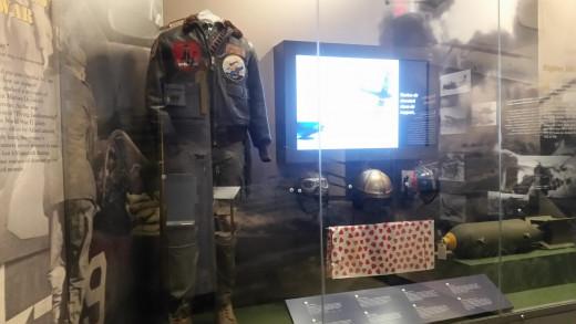 Marine Corps. pilot uniform and helmets!