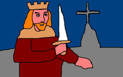 The legend and stories dealing with King Arthur were a rallying point for British pride in the 19th Century.