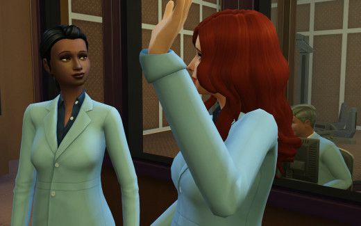 Delia meets co-worker Holly and sets onto the path of lifelong friendship.