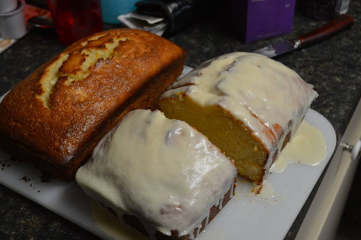 After juicing my oranges I was left with the pulp (my son doesn't like the pulp) so I decided to make homemade Orange Bread and use the left over pulp instead of the orange juice the recipe called for.  Turned out great!