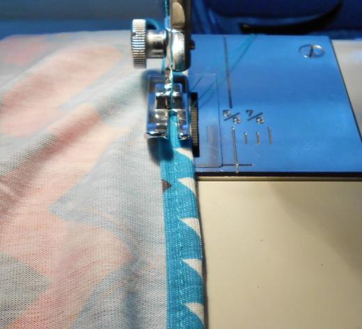 Sewing a Narrow Hem