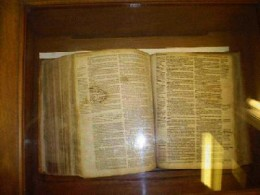 John Lothropp's Bible Still Sits Inside The Church He Founded In Barnstable