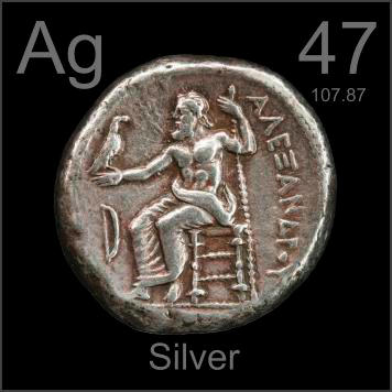 This tetradrachm is from Greece around 261 BC and is about 95% pure. In 0 AD this coin was older than the United States is today