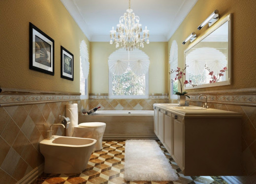 five easy do it yourself steps how to remodel a bathroom within a budget hubpages. Black Bedroom Furniture Sets. Home Design Ideas