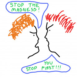4 Simple Ways to Stop Fighting