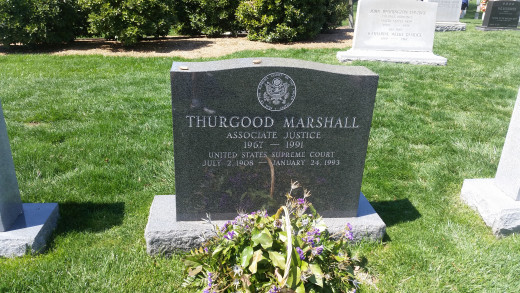 Thurgood Marshall was the first African-American justice of the Supreme Court.