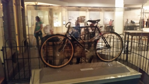 The Wright Brothers were known for making bicycles like this one before they did planes!