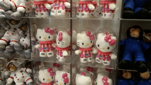 Even Hello Kitty likes to be an astronaut sometimes SS!