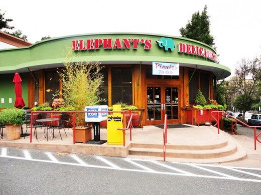 The main Elephants Deli in Portland