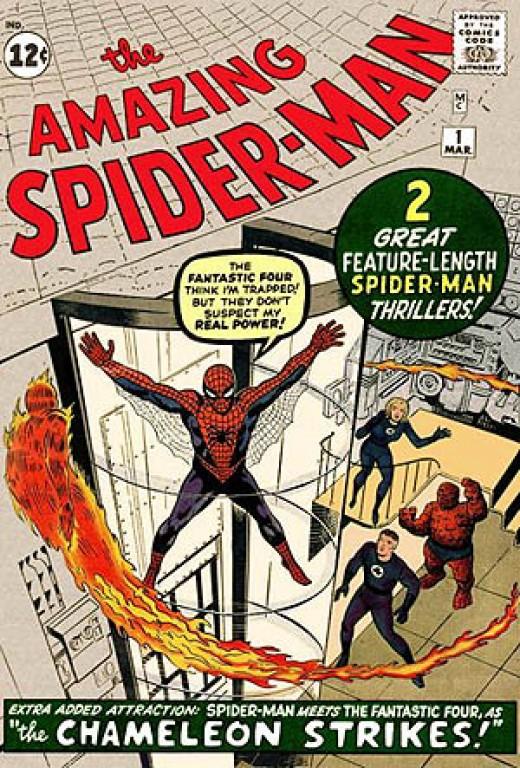 First Spider-Man Comic