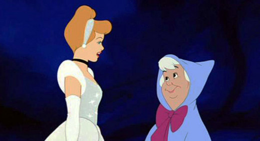 It would've been funny as hell if Cinderella had asked why it took her fairy godmother so freaking long to help her out.  I would've loved to have seen her try to answer that one.