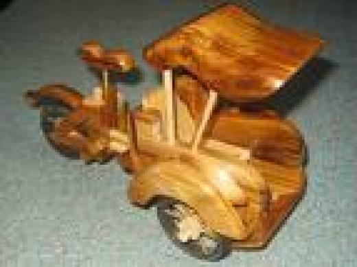 Becak toys  www.i-comers.com