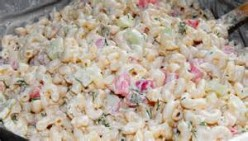 Bear N Mom Recipes  - Ranch Style Macaroni Salad